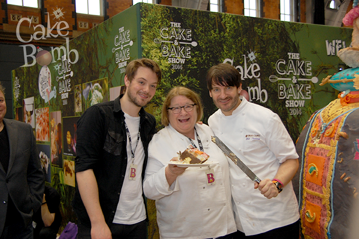 John Whaite, Rosemary Shrager and Eric Lanlard join us at The Cake and Bake Show Manchester