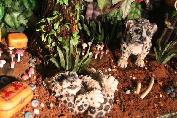 Vicki Smith's leopard cubs
