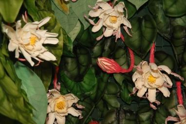 Brahma Kamal flower and buds by Arty Tarts