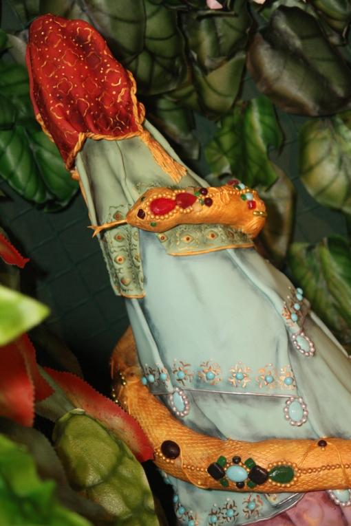 Chocolate Strawberry decorative cone