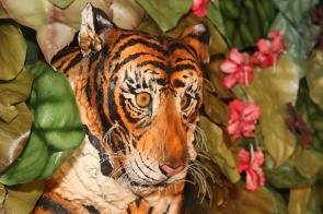 The tiger in his habitat