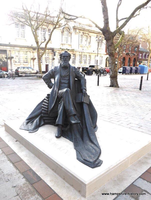 Dickens Statue, Portsmouth