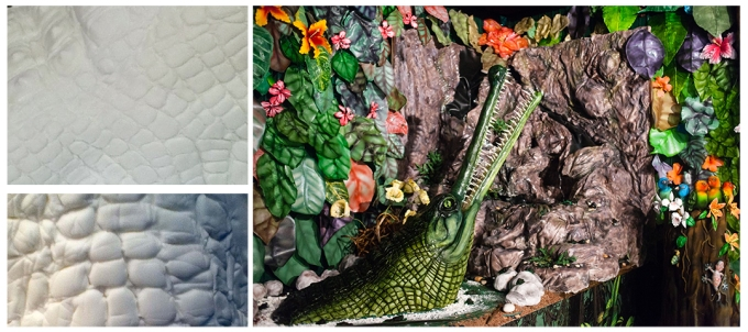 Gharial crocodile by Conjuror's Kitchen