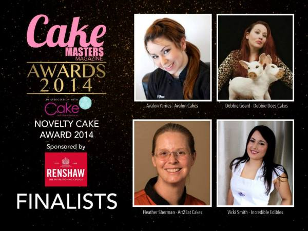 Novelty cake finalists